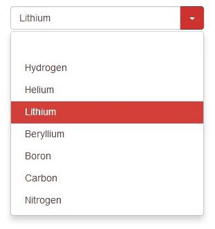 select personalizzata con bootstrap