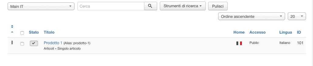 esempio menu joomla multi lingua