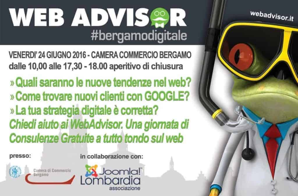 Web Advisor Bergamo 2016