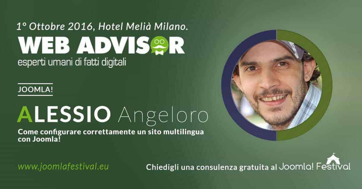Angeloro Alessio JoomlaFestival
