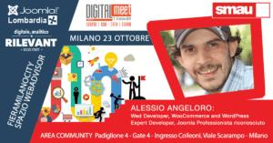 Alessio Angeloro a SMAU 2018