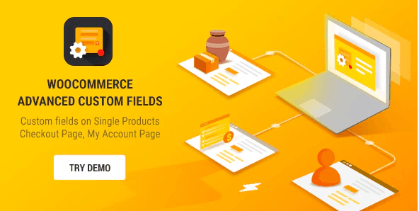 advanced custom fields woocommerce