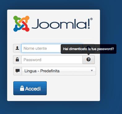 Login Joomla