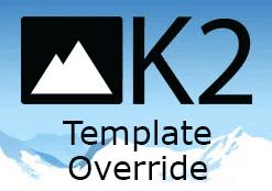 k2 template override