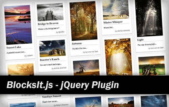 BlocksIt jQuery Plugin