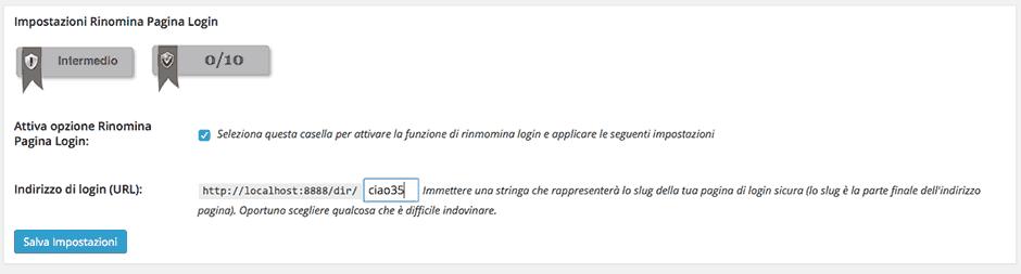 redirect area login wordpress