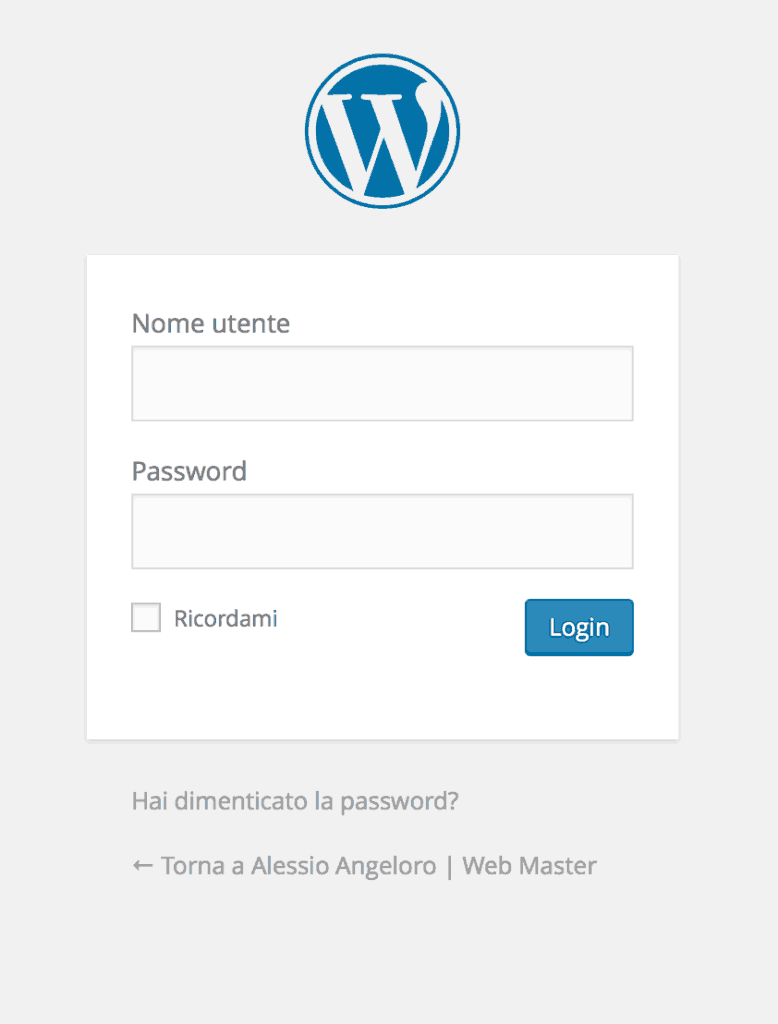 default_wordpress_login