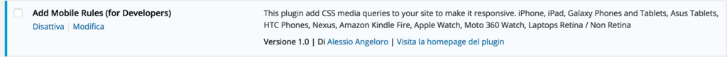 CSS3 Media Queries WordPress Plugin