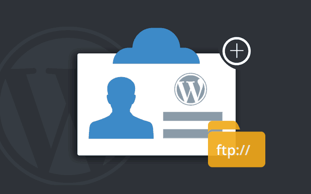 creare utente wordpress via ftp