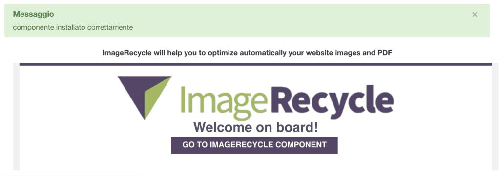 installazione image recycle