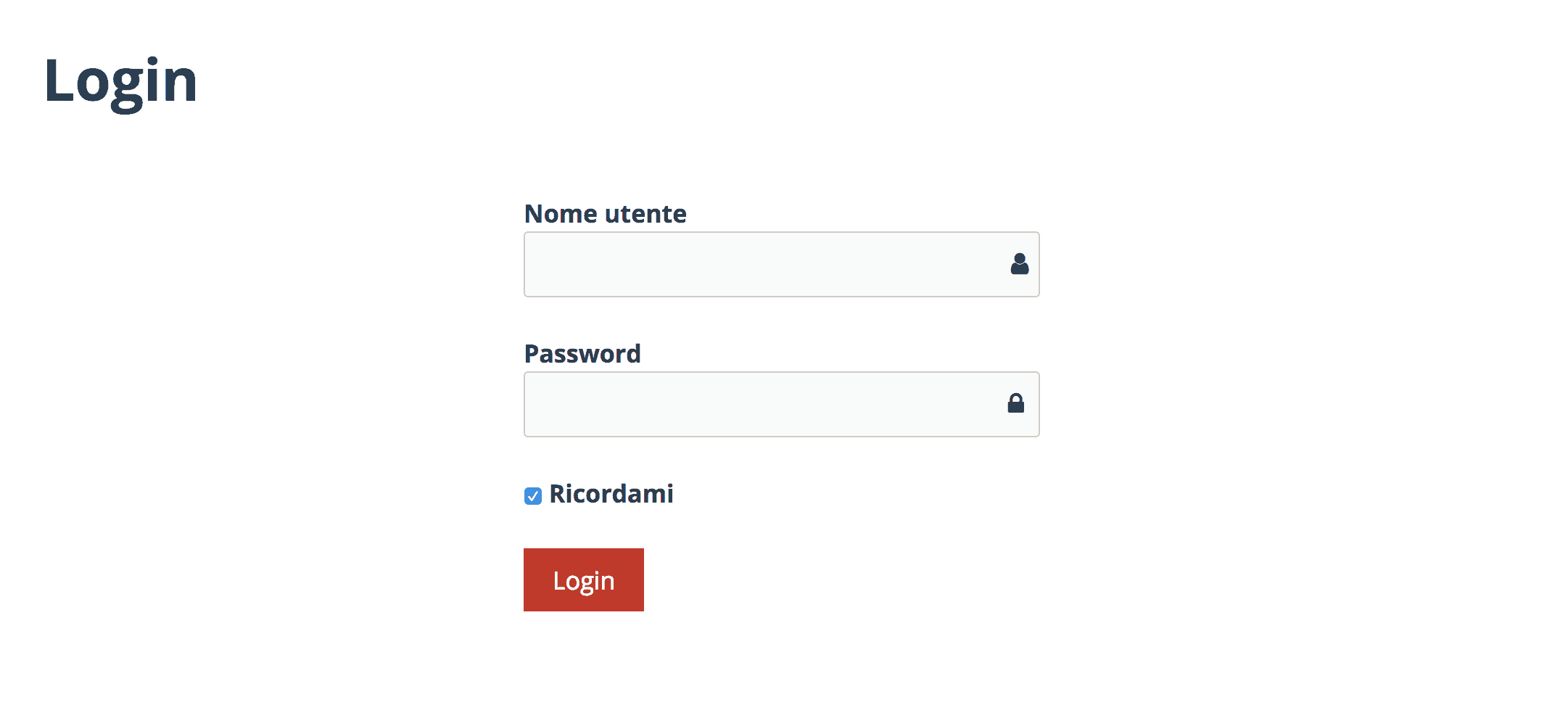 wordpress front end login