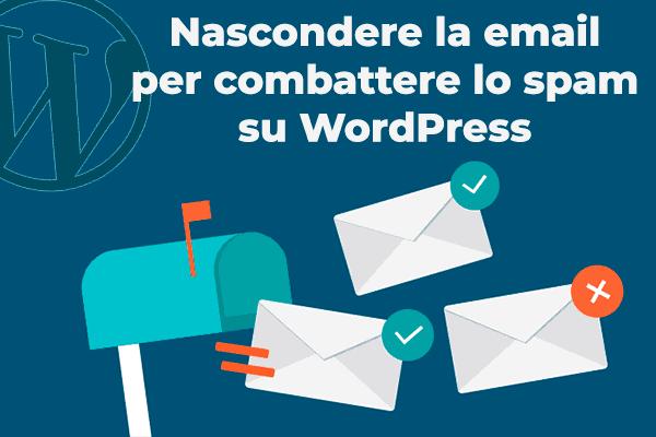 nascondere email wordpress
