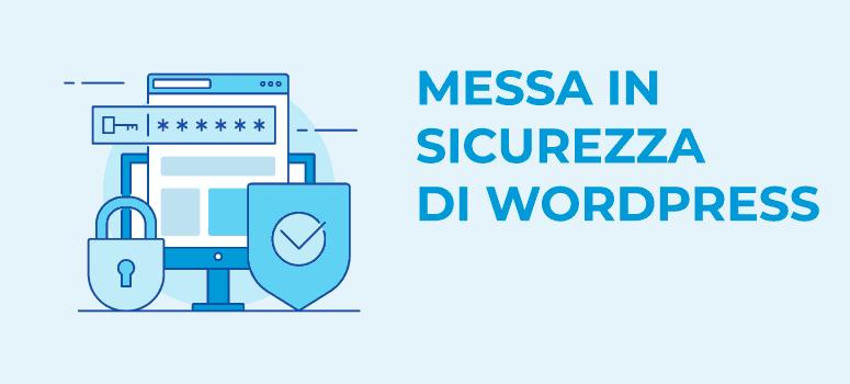 servizio sicurezza wordpress