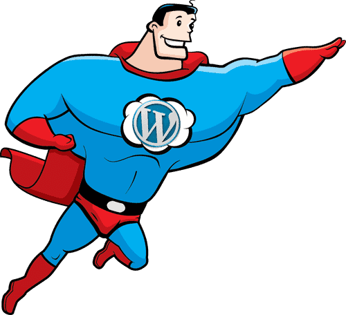 wordpress hero